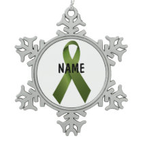 Kidney Cancer Memorial Ornament