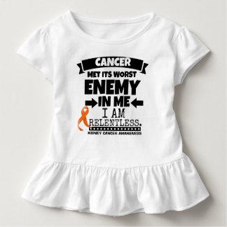 Kidney Cancer Met Its Worst Enemy in Me (Orange) Toddler T-shirt