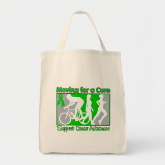 Kidney Cancer Moving For A Cure Grocery Tote Bag