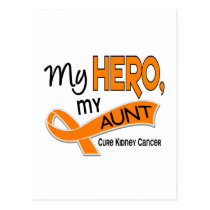 Kidney Cancer MY HERO MY AUNT 42 Postcard