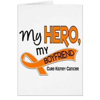 Kidney Cancer MY HERO MY BOYFRIEND 42 Card
