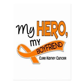 Kidney Cancer MY HERO MY BOYFRIEND 42 Postcard