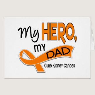 Kidney Cancer MY HERO MY DAD 42 Card