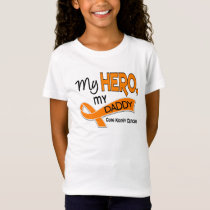 Kidney Cancer MY HERO MY DADDY 42 T-Shirt