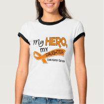 Kidney Cancer MY HERO MY DAUGHTER 42 T-Shirt