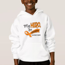 Kidney Cancer MY HERO MY GRANDMA 42 Hoodie