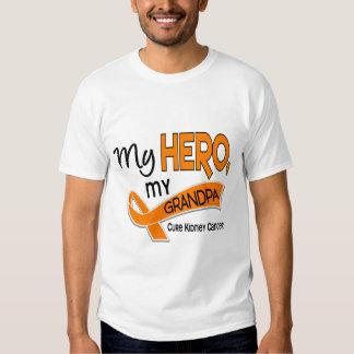 Kidney Cancer MY HERO MY GRANDPA 42 T Shirt