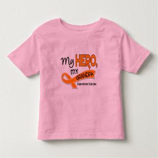Kidney Cancer MY HERO MY GRANDPA 42 Tee Shirt