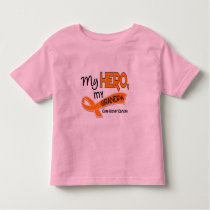 Kidney Cancer MY HERO MY GRANDPA 42 Toddler T-shirt