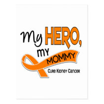 Kidney Cancer MY HERO MY MOMMY 42 Postcard