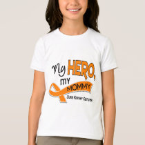 Kidney Cancer MY HERO MY MOMMY 42 T-Shirt