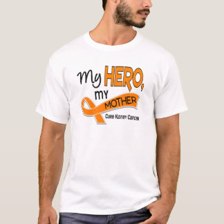 Kidney Cancer MY HERO MY MOTHER 42 T-Shirt