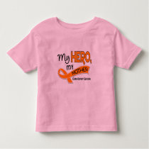 Kidney Cancer MY HERO MY MOTHER 42 Toddler T-shirt