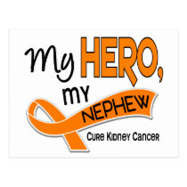 Kidney Cancer MY HERO MY NEPHEW 42 Postcard