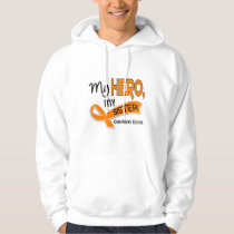 Kidney Cancer MY HERO MY SISTER 42 Hoodie