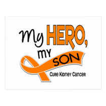 Kidney Cancer MY HERO MY SON 42 Postcard