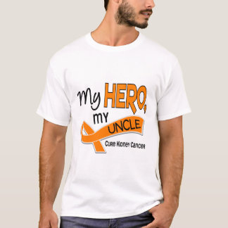 Kidney Cancer MY HERO MY UNCLE 42 T-Shirt