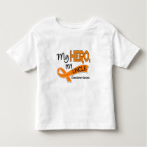 Kidney Cancer MY HERO MY UNCLE 42 Toddler T-shirt