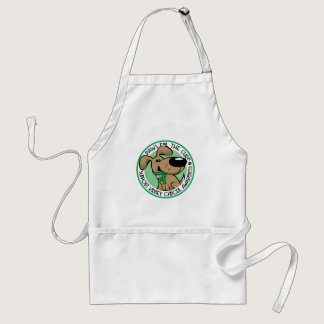 Kidney Cancer Paws for the Cure Adult Apron