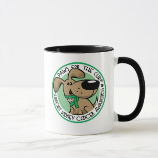 Kidney Cancer Paws for the Cure Mug