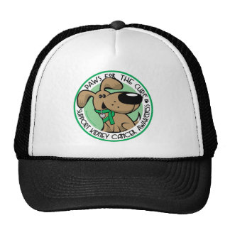 Kidney Cancer Paws for the Cure Trucker Hat