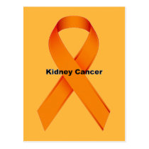 Kidney Cancer Postcard