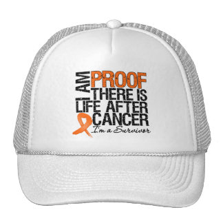 Kidney Cancer Proof There is Life After Cancer Mesh Hat
