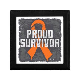 Kidney Cancer Proud Survivor Keepsake Box