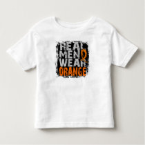 Kidney Cancer Real Men Wear Orange Toddler T-shirt