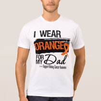 Kidney Cancer Ribbon Dad T-Shirt