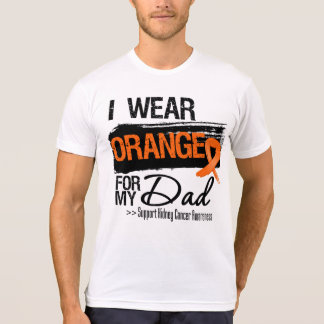 Kidney Cancer Ribbon Dad T-Shirt
