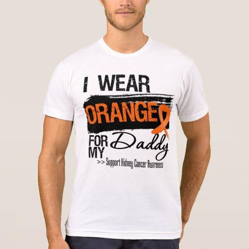 Kidney Cancer Ribbon Daddy Shirts
