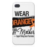 Kidney Cancer Ribbon Mother iPhone 4/4S Cases