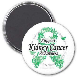 Kidney Cancer Ribbon of Butterflies Magnet