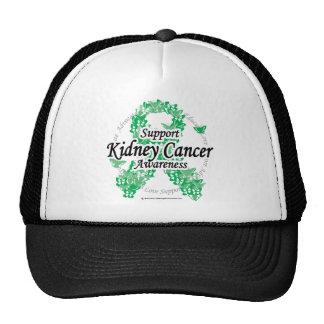 Kidney Cancer Ribbon of Butterflies Trucker Hat