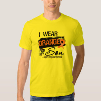 Kidney Cancer Ribbon Son T-Shirt