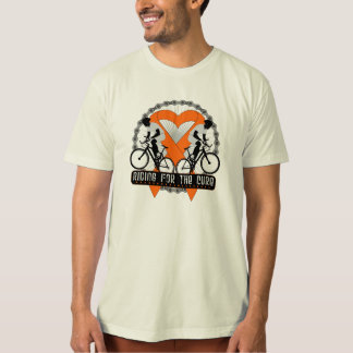Kidney Cancer Riding For The Cure v2 T-shirt