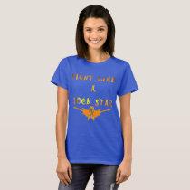 Kidney Cancer Rock Star Ladies T-Shirt
