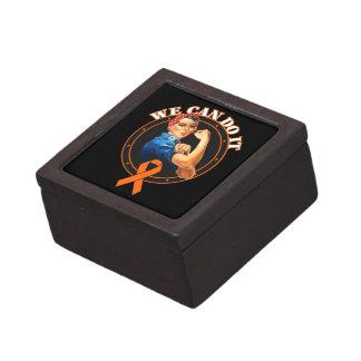 Kidney Cancer - Rosie The Riveter - We Can Do It 2 Premium Keepsake Box