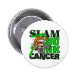Kidney Cancer - Slam Dunk Cancer Pinback Button