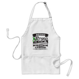 Kidney Cancer Strong is The Only Choice v2 Aprons