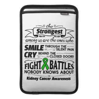 Kidney Cancer Strongest Among Us MacBook Air Sleeves