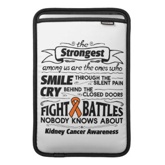 Kidney Cancer  Strongest Among Us Sleeve For MacBook Air