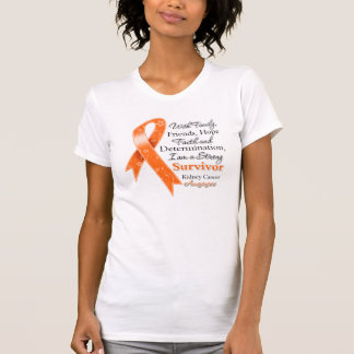 Kidney Cancer Support Strong Survivor 2 T Shirts