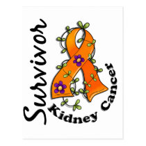 Kidney Cancer Survivor 15 Postcard