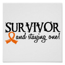 Kidney Cancer Survivor 18 Poster