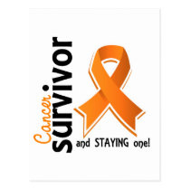 Kidney Cancer Survivor 19 Postcard