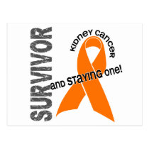 KIDNEY CANCER Survivor 1 Postcard
