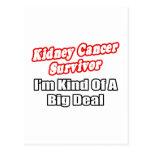 Kidney Cancer Survivor...Big Deal Postcards
