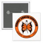 Kidney Cancer Survivor Butterfly Pin